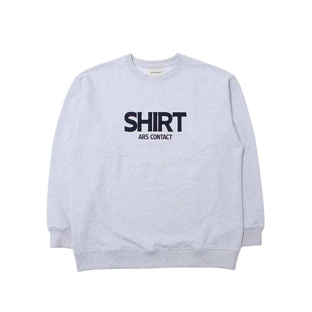 AC 4412 SWEAT SHIRTS,ASH GRAY