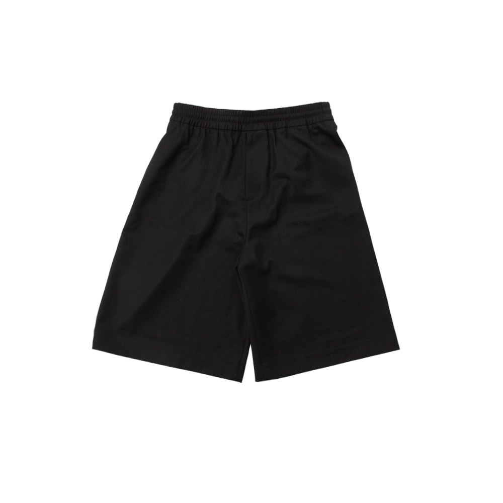 AC BERMUDA PANTS,BLACK