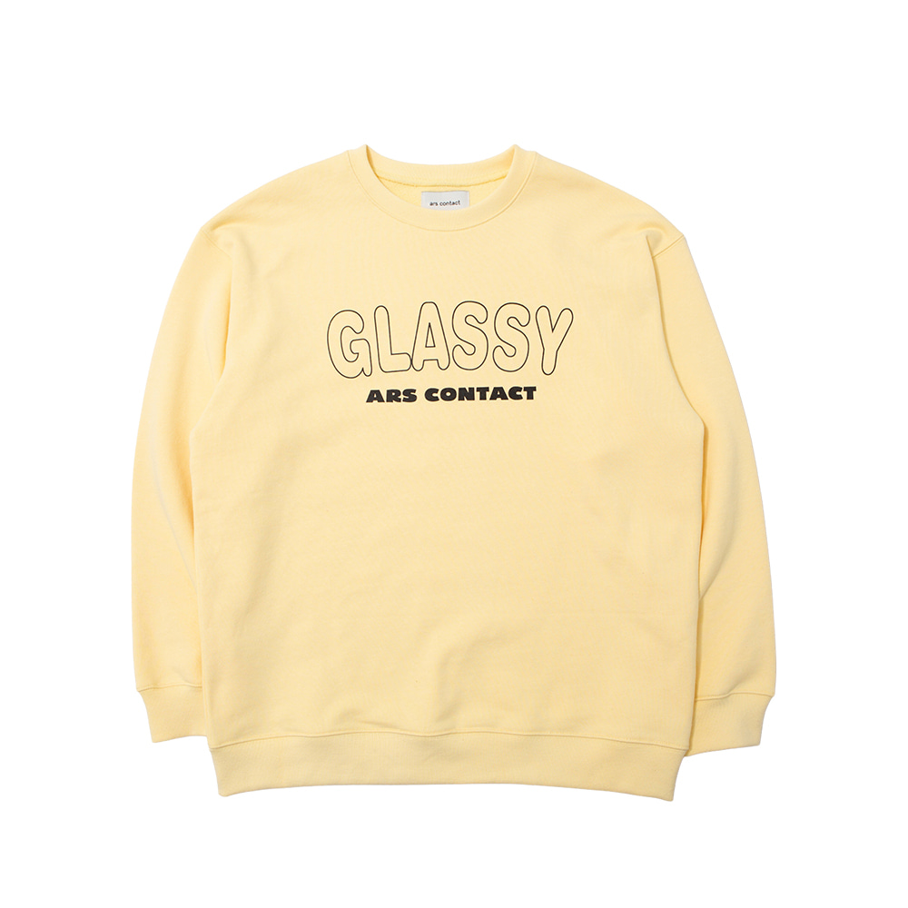 AC 6233 SWEAT SHIRTS,H.YELLOW