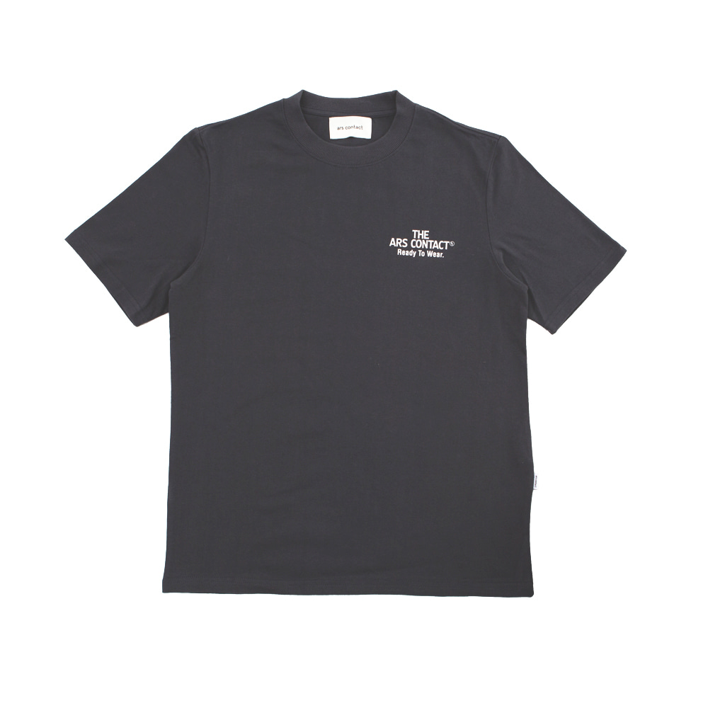 Signature Tee,Dark Gray